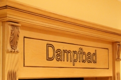 steam bath, Dampfbad