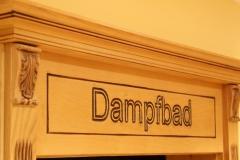 steam bath, Dampfbad